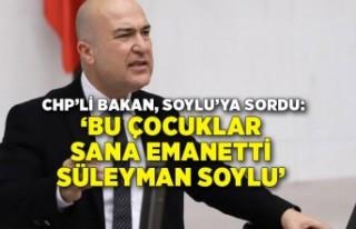 CHP'li Bakan intihar mektuplarını Meclis'te...