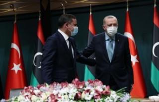 Cumhurbaşkanı Erdoğan: 150 bin doz aşıyı Libya'ya...