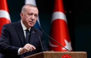Cumhurbaşkanı Erdoğan'dan koronavirüs tedbiri...