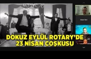 Dokuz Eylül Rotary'de 23 Nisan Coşkusu