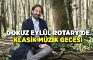 Dokuz Eylül Rotary'de klasik müzik gecesi