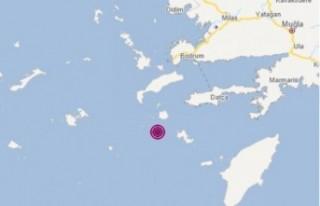 Ege'de peş peşe depremler