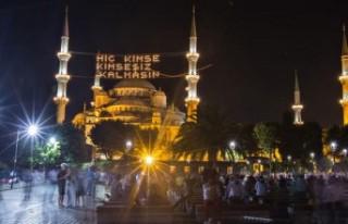 En uzun oruç Sinop'ta, en kısa oruç Hatay'da...
