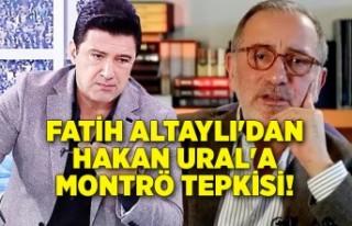Fatih Altaylı'dan Hakan Ural'a Montrö...