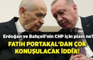 Fatih Portakal'dan çok konuşulacak iddia! Erdoğan...