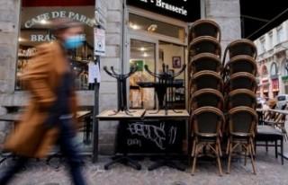 Fransa'da lüks restoranlar 'yeraltına...