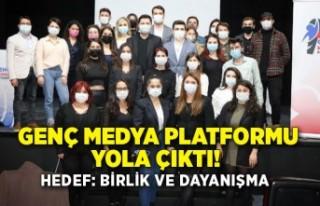 Genç Medya Platformu yola çıktı! Hedef: Birlik...