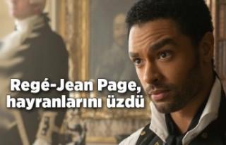 Regé-Jean Page, hayranlarını üzdü