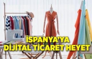 Hazırgiyim konfeksiyon ve tekstil sektöründen İspanya'ya...