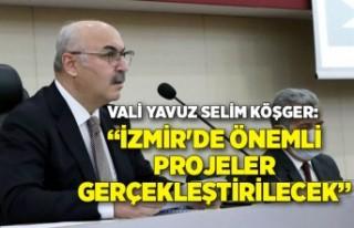 İl Koordinasyon Kurulu, Vali Yavuz Selim Köşger...