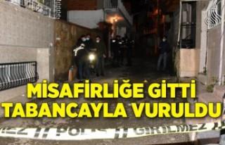 İzmir'de husumetlisi tarafından tabancayla...
