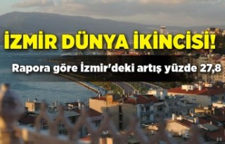 İzmir dünya ikincisi!