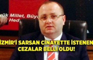 İzmir'i sarsan cinayette istenen cezalar belli...