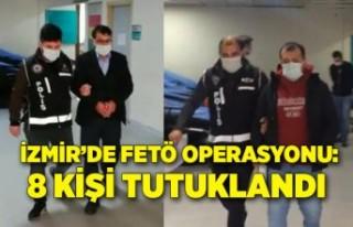 İzmir'deki FETÖ operasyonu; 1'i ihraç emniyet...