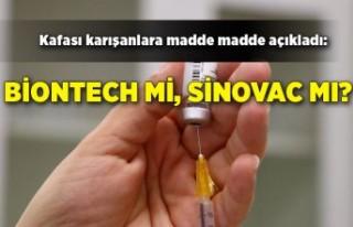 Kafası karışanlara madde madde açıkladı: Biontech...