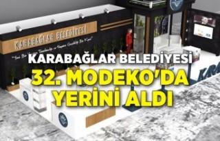 Karabağlar Belediyesi 32. MODEKO'da yerini aldı