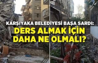 Karşıyaka Belediyesi başa sardı: Ders almak için...