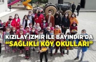 """Kızılay İzmir ile Bayındır'da """"Sağlıklı..."""