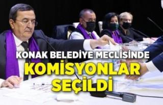 Konak Belediye Meclisinde komisyonlar seçildi