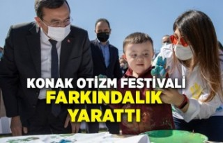 Konak Otizm Festivali farkındalık yarattı