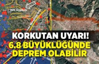 Korkutan uyarı: Her an 6.8 büyüklüğünde deprem...