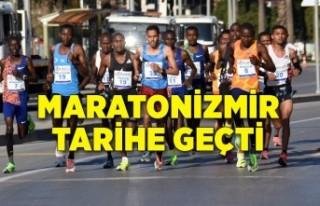 Maratonİzmir'de Türkiye'deki en iyi derece...