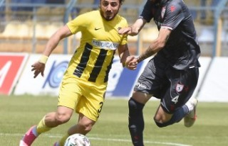 Menemenspor - Yılport Samsunspor: 2-2