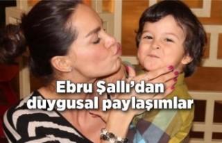 Oğlu Pars'ın ölüm yıl dönümünde Ebru Şallı'dan...