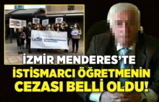 İzmir Menderes'te istismarcı emekli öğretmenin...