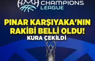 Pınar Karşıyaka'nın rakibi belli oldu!