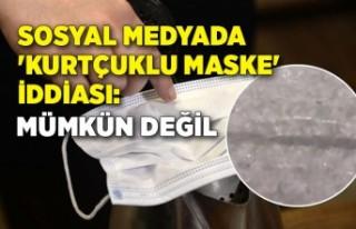 Sosyal medyada 'kurtçuklu maske' iddiası:...