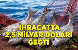 Su ürünleri ve hayvansal mamuller sektörü ihracatta...