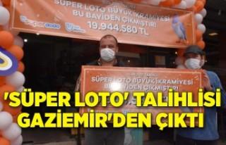 'Süper Loto' talihlisi Gaziemir'den...