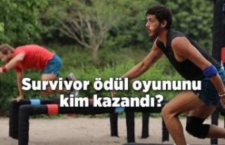 Survivor ödül oyununu kim kazandı?