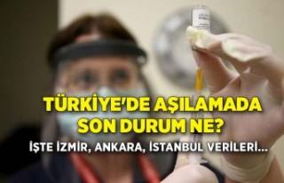 Türkiye'de aşılamada son durum ne? İşte...