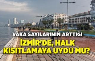 Vaka sayılarının arttığı İzmir'de, halk...