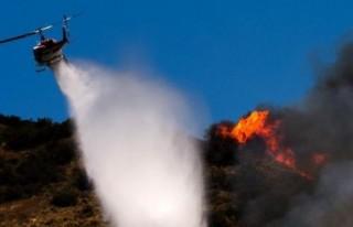 Yangın söndürme helikopteri faturası katlandı