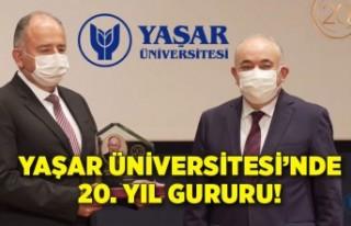 Yaşar Üniversitesi'nde 20. yıl gururu!
