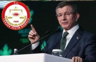 YSK'nın Gelecek Partisi kararı belli oldu