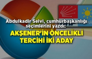 Abdulkadir Selvi, cumhurbaşkanlığı seçimlerini...
