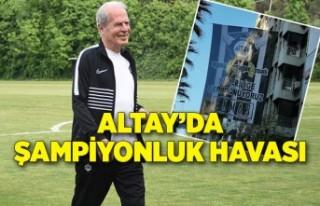 Altay'a Mustafa Denizli'nin getirilmesiyle...