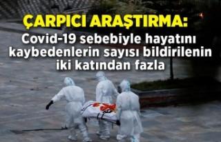 Araştırma: Covid-19 sebebiyle hayatını kaybedenlerin...