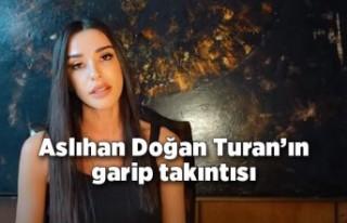 Arda Turan'ın eşi Aslıhan Doğan Turan'ın...
