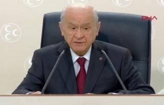 Bahçeli: MHP anayasa yazımını tamamlamıştır
