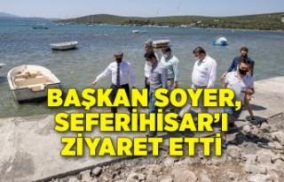 Başkan Soyer, Seferihisar Belediye Başkanı İsmail...