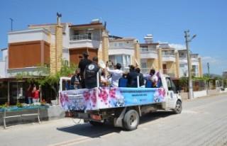 Dikili'de Hıdırellez'de müzisyenler unutulmadı