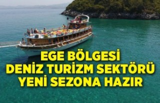 Ege Bölgesi deniz turizm sektörü yeni sezona hazır