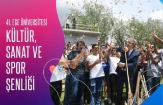 EÜ 41. Kültür, Sanat ve Spor Şenliği 'online'...