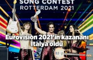 Eurovision 2021'in kazananı İtalya oldu
