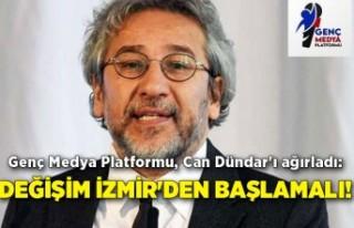 Genç Medya Platformu, Can Dündar'ı ağırladı:...